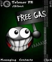 Funny Gas es el tema de pantalla