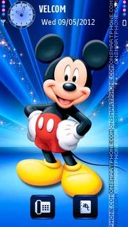 Disney's heroes theme screenshot