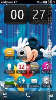 Mickey Mouse 18 es el tema de pantalla