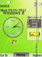 Windows 8 New 02 es el tema de pantalla