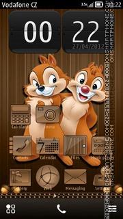Capture d'écran Chip and Dale 04 thème