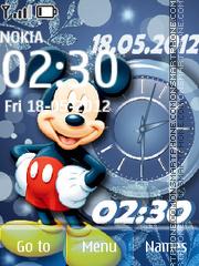 Mickey Mouse 19 theme screenshot