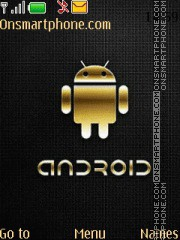 Android Gold theme screenshot