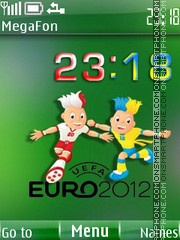 EURO 2012 theme screenshot