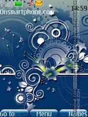 Blue Glass 01 es el tema de pantalla