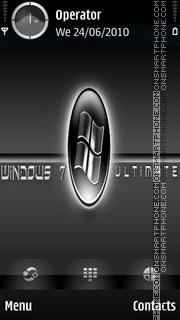W7 Ultimate tema screenshot