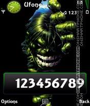 Hulk es el tema de pantalla