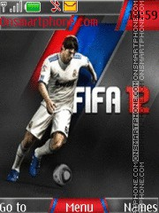 Fifa 12 theme screenshot
