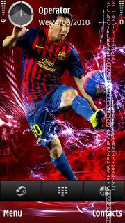 Lionel Messi theme screenshot