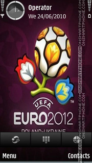 Euro 2012 tema screenshot