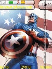 Captain America es el tema de pantalla