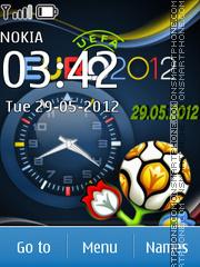 Euro2012 theme screenshot