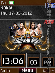 WWE Clock 01 theme screenshot