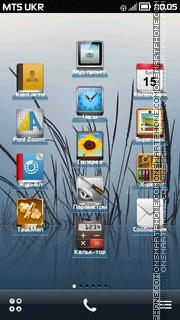 iPhone Style theme screenshot