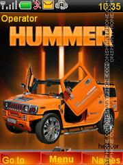 Hummer jeep theme screenshot
