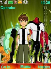 Ben Ten theme screenshot