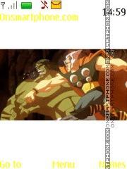 Hulk vs Thor tema screenshot