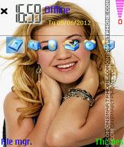 Kelly Clarkson 01 es el tema de pantalla