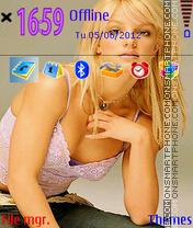 Britney Spears 01 es el tema de pantalla