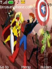 The Next Avengers theme screenshot