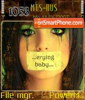 Cryin Baby es el tema de pantalla
