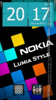 Lumia theme screenshot