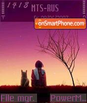 Friends 01 theme screenshot