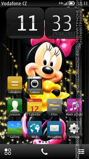 Minnie 01 es el tema de pantalla