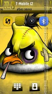 Angry Bird Yellow theme screenshot