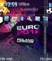 UEFA Euro 2012 01 theme screenshot