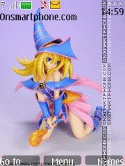 Dark Magician Girl theme screenshot
