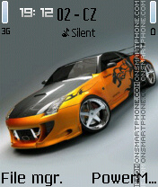 Nissan GT theme screenshot