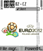 Euro 2012 04 theme screenshot