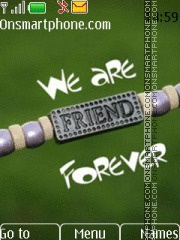 We are together love theme screenshot