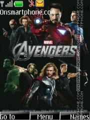 The Avengers 02 es el tema de pantalla