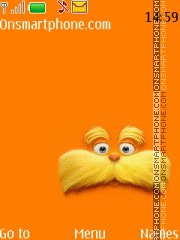 The Lorax theme screenshot