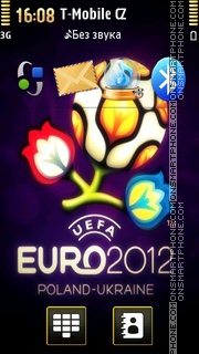 Euro 2012 - Football 01 tema screenshot