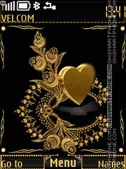 Golden heart es el tema de pantalla