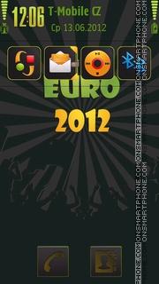 Green Euro2012 theme screenshot