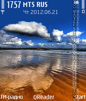 Near-Water theme screenshot