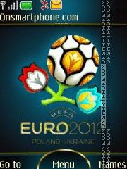 Euro 2012 v2 es el tema de pantalla
