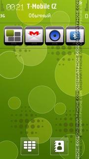 Green Android 01 es el tema de pantalla
