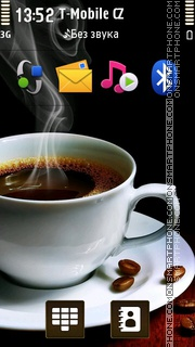 Coffee Smoke theme screenshot