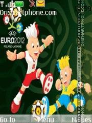 Euro 2012 Mascots theme screenshot