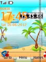 Summer Live theme screenshot