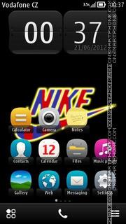 Nike Barca 01 es el tema de pantalla