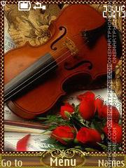 Violin es el tema de pantalla