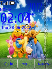 Winnie the Pooh and Friends theme screenshot