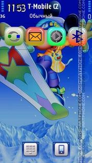 Mickey Mouse 20 theme screenshot