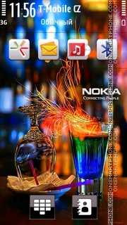 Nokia Party theme screenshot